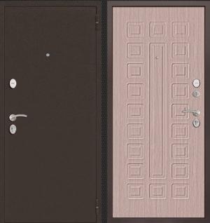 Входная дверь CommandDoors ПАТРИОТ БЕЛАЯ ЛИСТВЕННИЦА