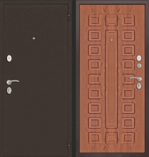 Входная дверь CommandDoors ПАТРИОТ ЗОЛОТОЙ ДУБ