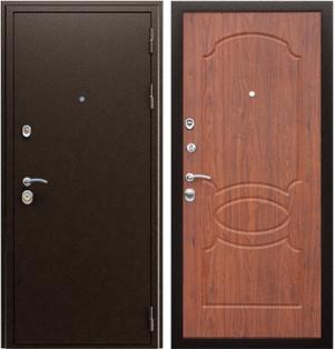 Входная дверь АСД  Гpация Орех темный