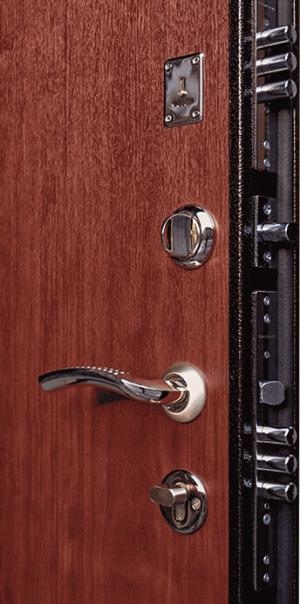 Входная дверь Ратибор Практик Итальянский орех