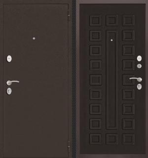 Входная дверь CommandDoors ПАТРИОТ ВЕНГЕ