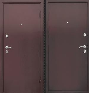 Входная дверь CommandDoors ПАТРИОТ МЕТАЛЛ/МЕТАЛЛ