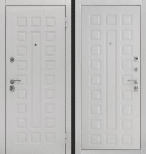 Входная дверь CommandDoors S01 2К АЛЬБЕРО БРАШ ГРЕЙ/АЛЬБЕРО БРАШ ГРЕЙ