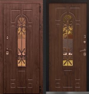 Входная дверь CommandDoors ЛАЦИО 3К ТЁМНЫЙ ДУБ/ТЁМНЫЙ ДУБ