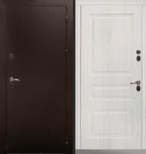 Входная уличная дверь CommandDoors СИБИРЬ ТЕРМО СТАНДАРТ СОСНА ПРОВАНС