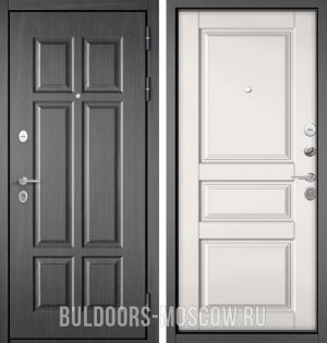 Входная дверь Бульдорс Mass-90 Бетон темный 9S-109/Белый софт 9SD-2