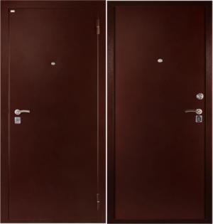 Входная дверь Дива C-501 Металл / Металл
