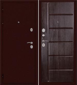 Входная дверь Сударь С-503 Венге тисненый
