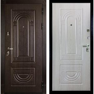 Входная дверь Дива МД-32 Венге / Дуб Филадельфия крем