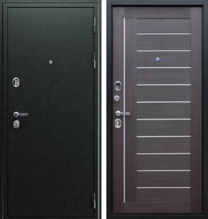 Входная дверь АСД «Соло» Орех рифленый