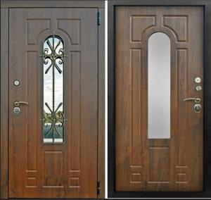 Входная дверь Снедо Лацио 2 ВИНОРИТ грецкий орех