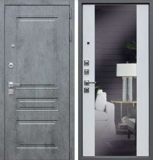 Входная дверь АСД «Лира с зеркалом»
