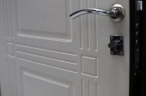 Входная дверь Кондор 2 Ясень белый