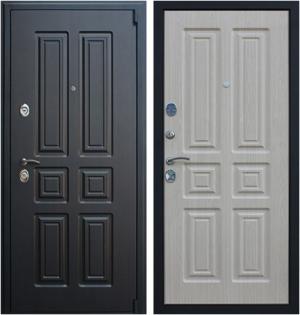 Входная дверь АСД  Атлант Беленый дуб