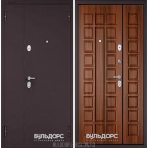 Входная дверь Бульдорс Mega Орех лесной