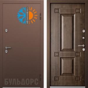 Входная дверь Бульдорс TERMO-2 Орех грецкий