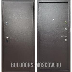 Входная дверь Бульдорс Econom Steel Букле шоколад
