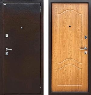Входная дверь Ратибор Форт  дуб светлый
