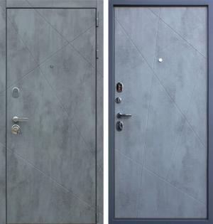 Входная дверь АСД «Дуэт Б» Бетон светлый