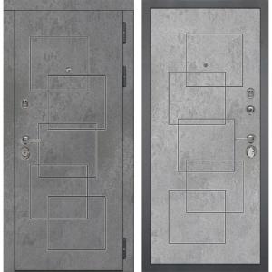 Входная дверь Дива МД-48 М-2 (Бетон Темный / Бетон Светлый)