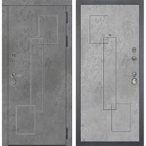 Входная дверь Дива МД-48 М-3 (Бетон Темный / Бетон Светлый)