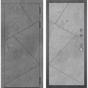 Входная дверь Дива МД-48 М-5 (Бетон Темный / Бетон Светлый)