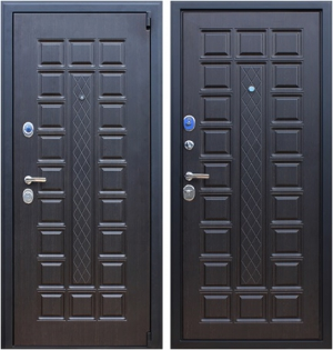 Входная дверь АСД  Консул Венге