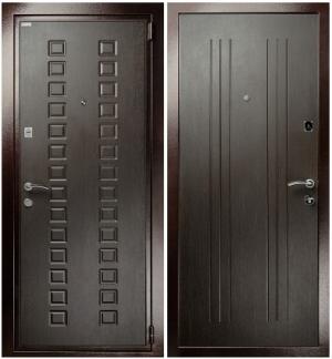 Входная дверь Гранит М2 Люкс Венге
