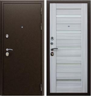 Входная дверь АСД  Маэстро 7Х Сандал белый