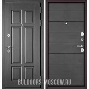 Входная дверь Бульдорс Mass-90 Бетон темный 9S-109/Бетон темный 9S-135