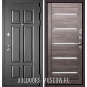Входная дверь Бульдорс Mass-90 Бетон темный 9S-109/Дуб дымчатый CR-3