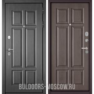 Входная дверь Бульдорс Mass-90 Бетон темный 9S-109/Дуб шале серебро 9S-109