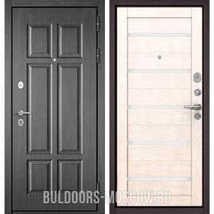 Входная дверь Бульдорс Mass-90 Бетон темный 9S-109/Дуб жемчужный CR-3