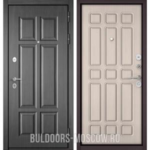 Входная дверь Бульдорс Mass-90 Бетон темный 9S-109/Ларче бьянко 9S-111