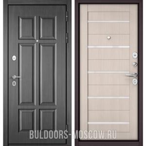 Входная дверь Бульдорс Mass-90 Бетон темный 9S-109/Ларче бьянко CR-3