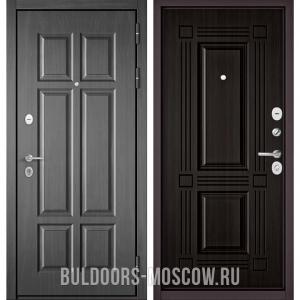 Входная дверь Бульдорс Mass-90 Бетон темный 9S-109/Ларче темный 9S-104