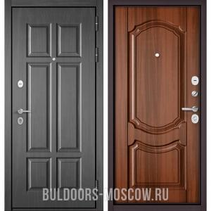 Входная дверьБульдорс Mass-90 Бетон темный 9S-109/Орех лесной 9SD-4