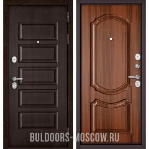 Входная дверь Бульдорс Mass-90 Ларче шоколад 9S-108/Орех лесной 9SD-4