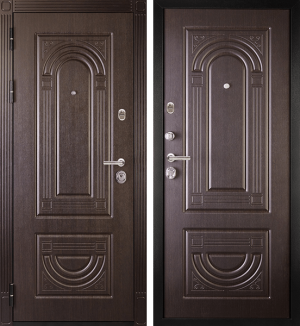 Входная дверь Дива МД-32 Венге / Венге