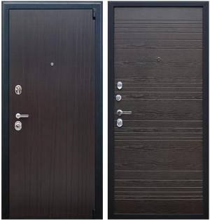 Входная дверь АСД  Next 2 Венге поперечный