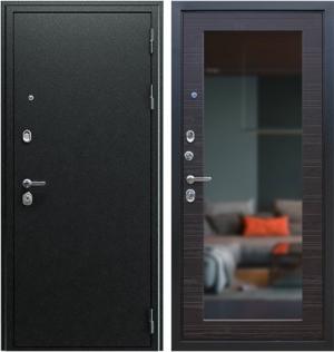 Входная дверь АСД  Next 1 с зеркалом Венге поперечный