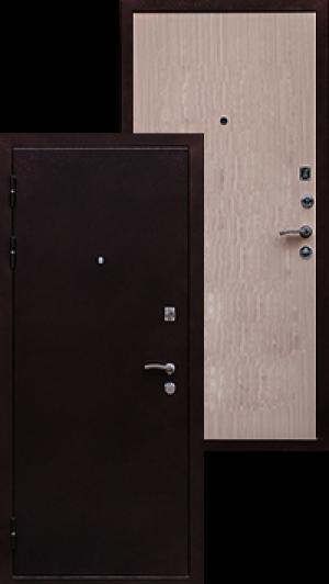 Входная дверь Ратибор Практик венге светлый