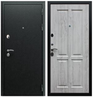 Входная дверь АСД  Прометей 3D Сосна белая