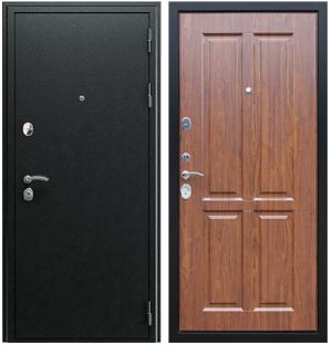 Входная дверь АСД  Прометей 3D Орех темный