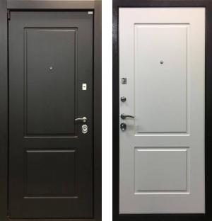 Входная дверь Ратибор Барьер 3К Белый Ясень