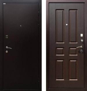 Входная дверь Ратибор Комфорт орех премиум