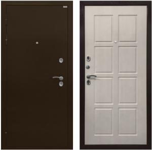 Входная дверь Ратибор Термоблок 3К  Лиственница беж