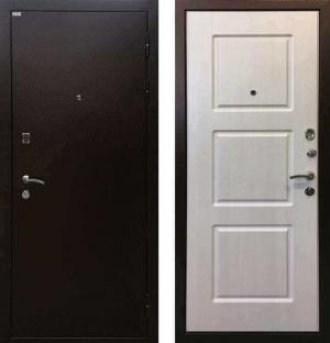 Входная дверь Ратибор Трио Лиственница бежевая