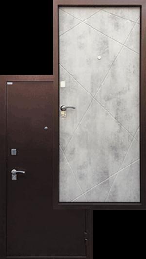 Входная дверь Ратибор Рубеж светлый бетон