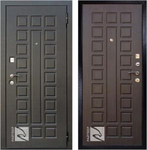 Входная дверь Райтвер Р-Сенат Лайф  Венге